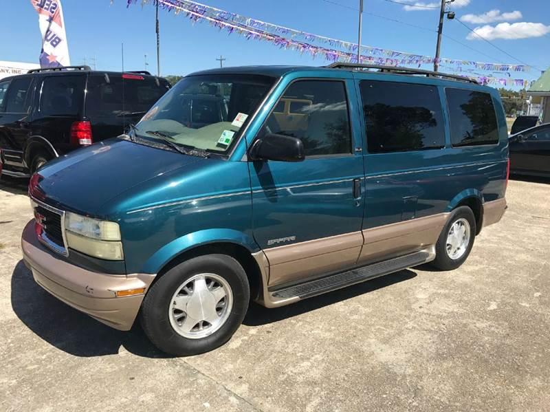 2002 Gmc Safari 3dr Sle Extended Mini Van In Baton Rouge La Double