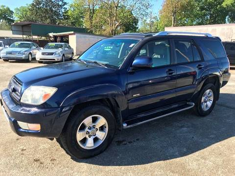 2003 Toyota 4Runner Limited for sale at Double K Auto Sales in Baton Rouge LA