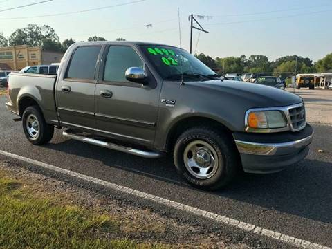 2002 Ford F-150 XLT for sale at Double K Auto Sales in Baton Rouge LA