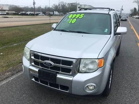 2010 Ford Escape Limited for sale at Double K Auto Sales in Baton Rouge LA