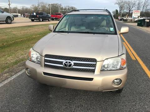 2007 Toyota Highlander Hybrid Limited for sale at Double K Auto Sales in Baton Rouge LA