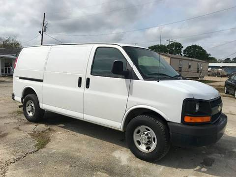 2010 Chevrolet Express Cargo 2500 for sale at Double K Auto Sales in Baton Rouge LA