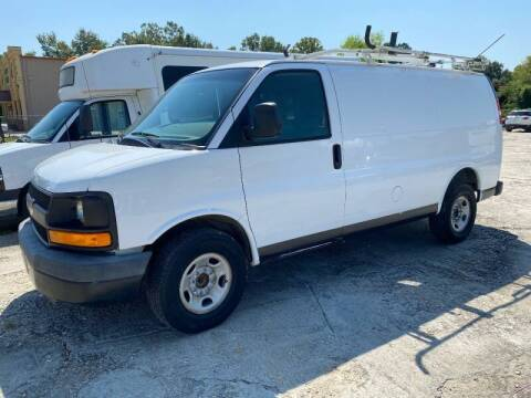 2013 Chevrolet Express Cargo for sale at Double K Auto Sales in Baton Rouge LA