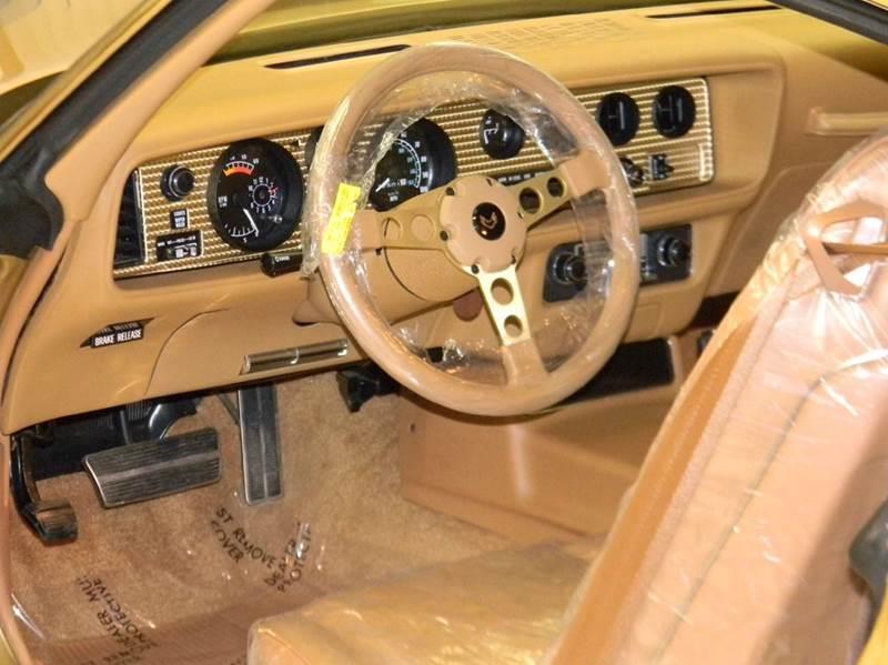 1978 Pontiac Firebird Trans Am Y88 Gold SE - Parkersburg WV