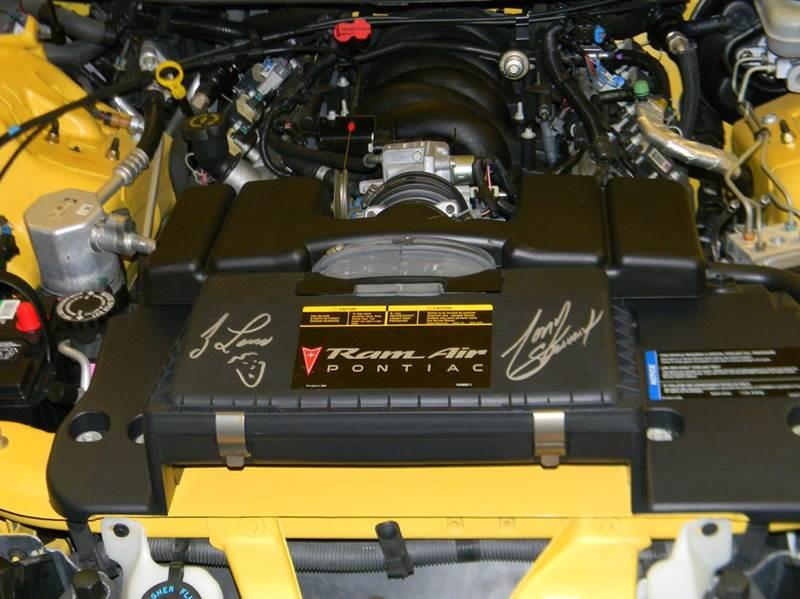 """2002 Pontiac Firebird Trans Am """"THE"""" PACE CAR - Parkersburg WV"""