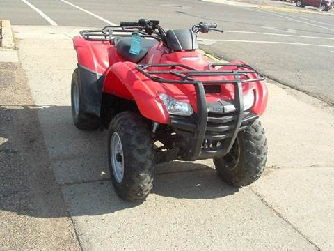 Good 2012 Honda Rancher For Sale In Dickinson, ND