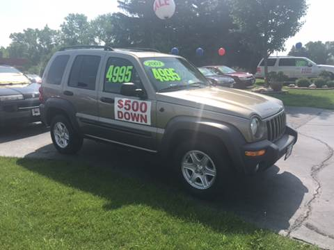 2003 Jeep Liberty for sale at Miro Motors INC in Woodstock IL
