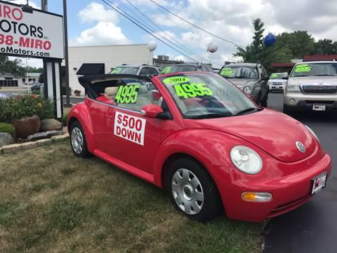 2004 Volkswagen New Beetle for sale at Miro Motors INC in Woodstock IL