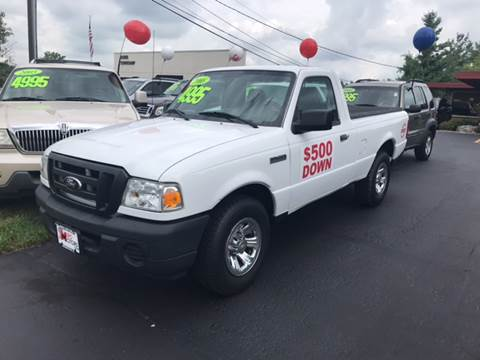 2008 Ford Ranger for sale at Miro Motors INC in Woodstock IL