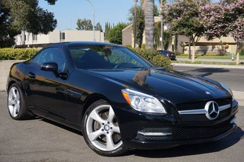 2012 Mercedes-Benz SLK for sale in Brea, CA