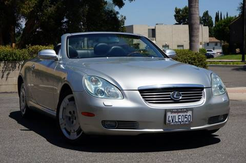 2002 Lexus SC 430 for sale in Brea, CA