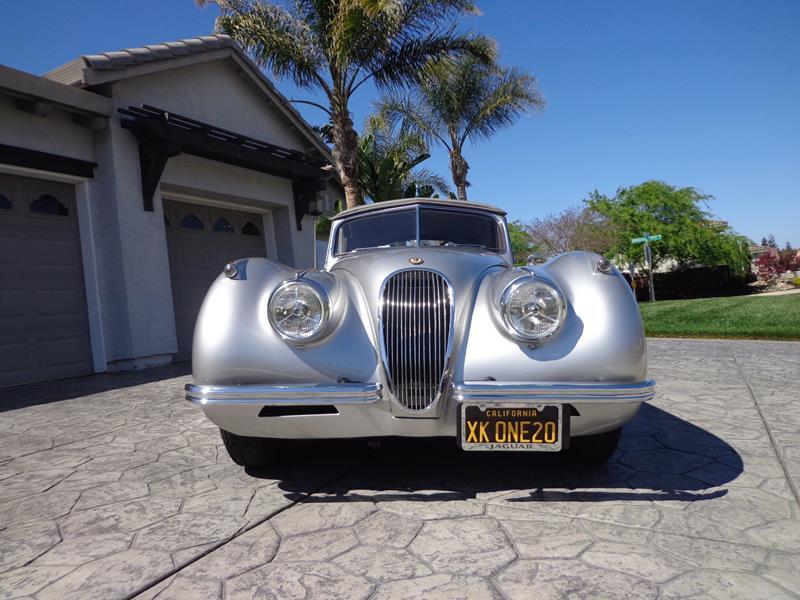 1954 Jaguar XK120 7