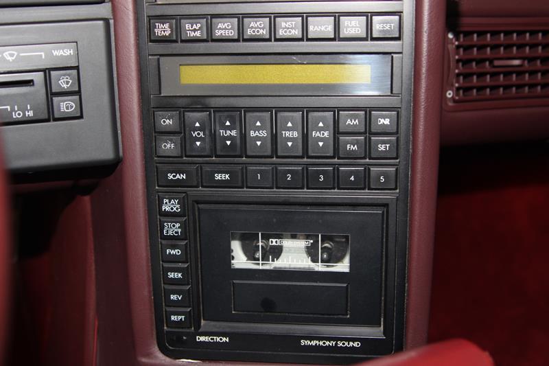 1987 Cadillac Allante 24