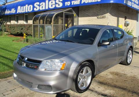 2013 Dodge Avenger for sale in Waterford, MI