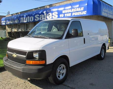 2008 Chevrolet Express Cargo for sale in Waterford, MI