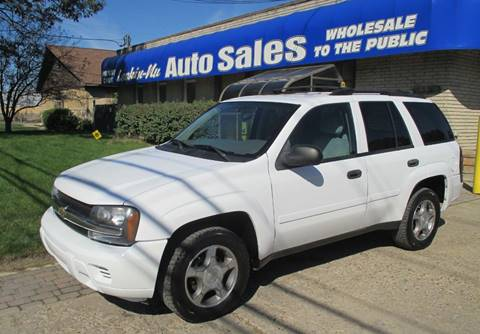2008 Chevrolet TrailBlazer for sale in Waterford, MI