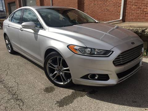 2013 Ford Fusion for sale at BOB ALLEN MOTORS in North Kansas City MO