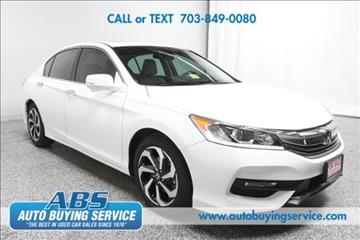 2016 Honda Accord for sale in Fairfax, VA