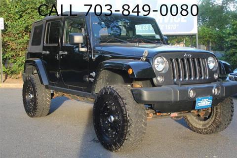 2014 Jeep Wrangler Unlimited for sale in Fairfax, VA
