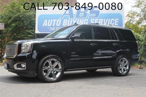 2015 GMC Yukon for sale in Fairfax, VA