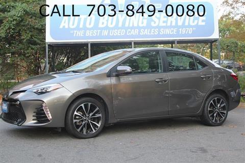 2017 Toyota Corolla for sale in Fairfax, VA