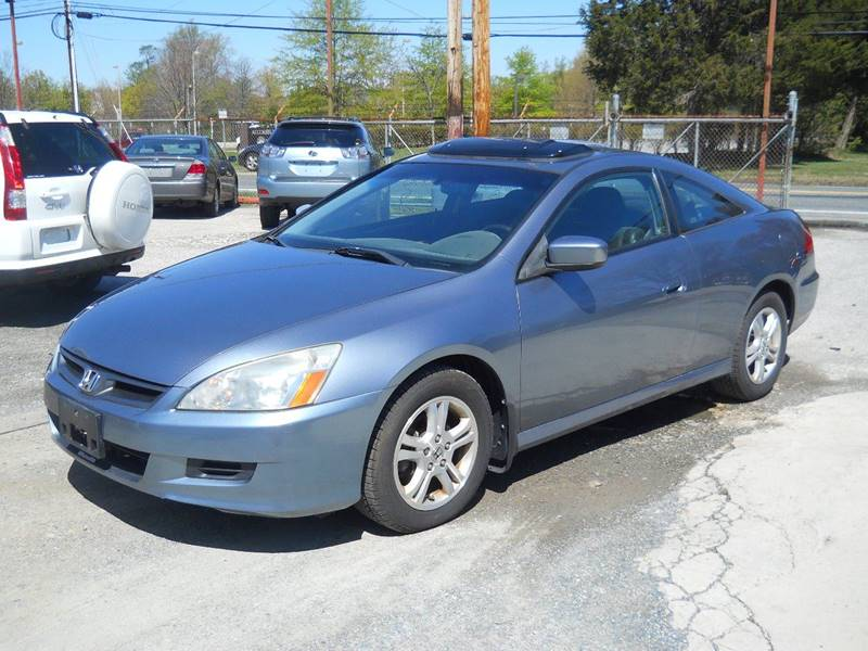 2006 Honda Accord EX 2dr Coupe 5M w/Leather - Accokeek MD