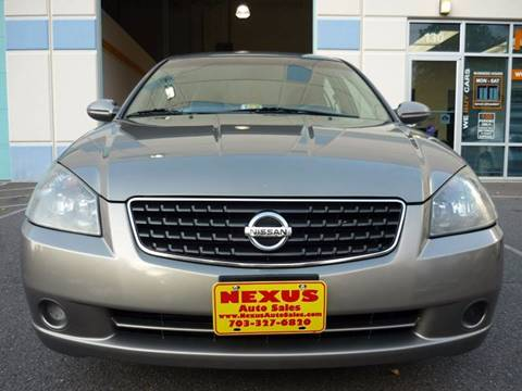 2006 Nissan Altima for sale in Chantilly, VA