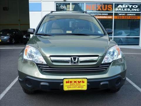 2007 Honda CR-V for sale at Nexus Auto Sales in Chantilly VA