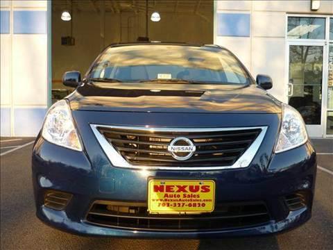 2012 Nissan Versa for sale at Nexus Auto Sales in Chantilly VA