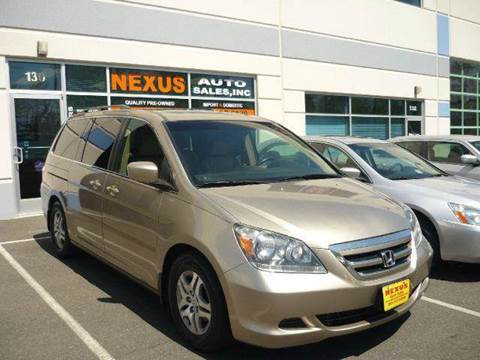 2006 Honda Odyssey for sale at Nexus Auto Sales in Chantilly VA