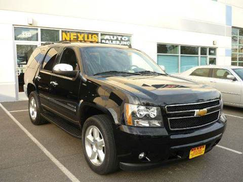 2009 Chevrolet Tahoe for sale at Nexus Auto Sales in Chantilly VA