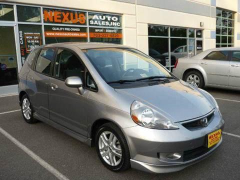2008 Honda Fit for sale at Nexus Auto Sales in Chantilly VA