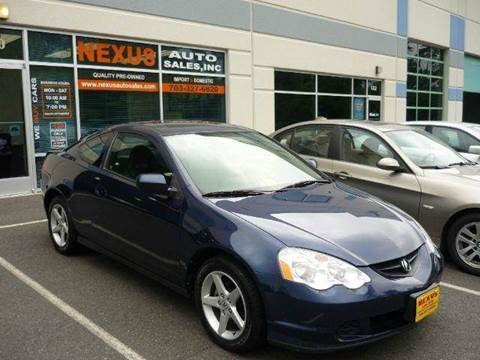 2004 Acura RSX for sale at Nexus Auto Sales in Chantilly VA