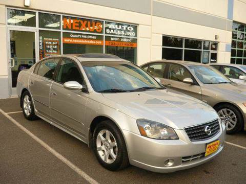 2005 Nissan Altima for sale at Nexus Auto Sales in Chantilly VA