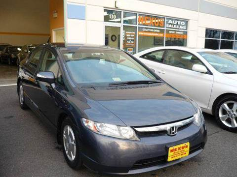 2007 Honda Civic for sale at Nexus Auto Sales in Chantilly VA