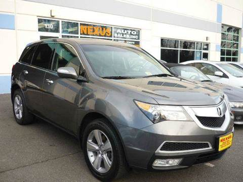 2011 Acura MDX for sale at Nexus Auto Sales in Chantilly VA