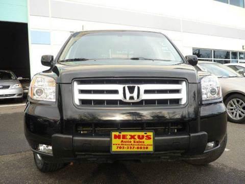 2008 Honda Pilot for sale at Nexus Auto Sales in Chantilly VA