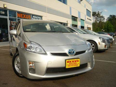 2010 Toyota Prius for sale at Nexus Auto Sales in Chantilly VA