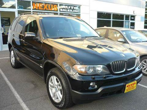 2005 BMW X5 for sale at Nexus Auto Sales in Chantilly VA