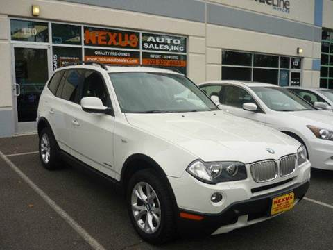 2010 BMW X3 for sale at Nexus Auto Sales in Chantilly VA