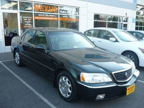 2000 Acura RL for sale at Nexus Auto Sales in Chantilly VA