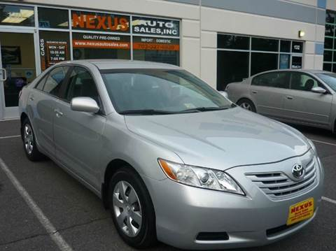 2007 Toyota Camry for sale at Nexus Auto Sales in Chantilly VA