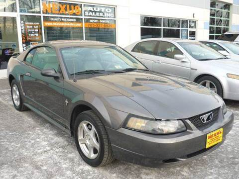 2003 Ford Mustang for sale at Nexus Auto Sales in Chantilly VA