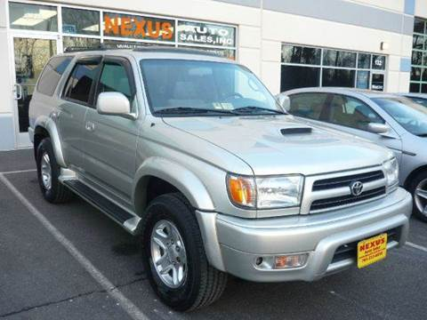 2000 Toyota 4Runner for sale at Nexus Auto Sales in Chantilly VA