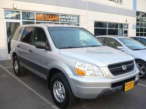 2005 Honda Pilot for sale at Nexus Auto Sales in Chantilly VA