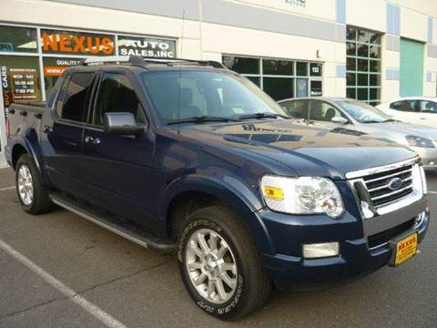2007 Ford Explorer Sport Trac for sale at Nexus Auto Sales in Chantilly VA