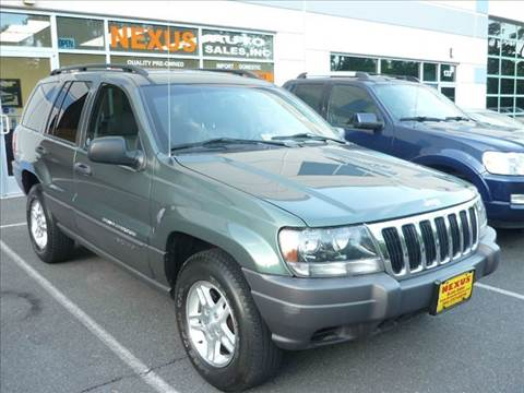 2002 Jeep Grand Cherokee for sale at Nexus Auto Sales in Chantilly VA