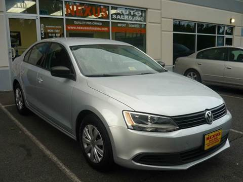 2012 Volkswagen Jetta for sale at Nexus Auto Sales in Chantilly VA