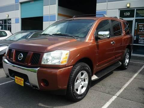 2004 Nissan Armada for sale at Nexus Auto Sales in Chantilly VA