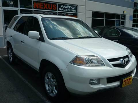2004 Acura MDX for sale at Nexus Auto Sales in Chantilly VA